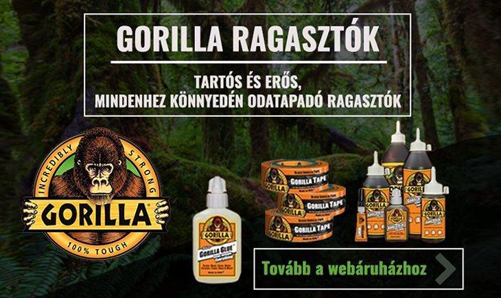 Gorilla ragasztók / Tape és folyékony ragasztók