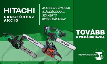 Hitachi láncfűrész akció
